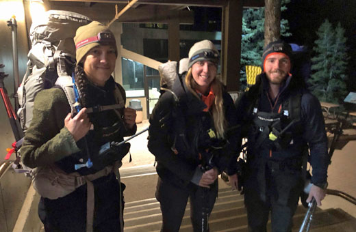 Rescuers ready to go