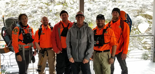 Rescuers back at Tramway